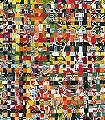 Bibite-Karos-Großmotiv-FotoTapeten-Multicolor