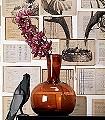 Biblioteca,-col.02-Blumen-Bücher-Zeichnungen-Moderne-Muster-Schwarz-Weiß-Ocker