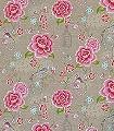 Birds-in-Paradise,-col.04-Blumen-Vögel-Florale-Muster-Multicolor-Hellbraun