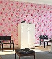 Birds-in-Paradise,-col.10-Blumen-Vögel-Florale-Muster-Rosa-Multicolor