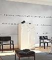 Birds-on-Powerline-Vögel-Wolken-FotoTapeten-Grau-Schwarz-Weiß