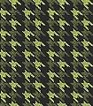 Black-keys,-lime-on-black-Hahnentritt-Moderne-Muster-Schwarz-limette