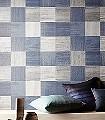 Bloc,-col.-3-Quadrate/Rechtecke-Moderne-Muster-Blau-Silber-Anthrazit