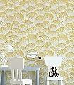 Bojan,-col.02-Blätter-Textil-&-NaturTapeten-Grau-Gelb
