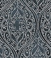 Bravo-Ebony-Ornamente-Klassische-Muster-Schwarz-petrol