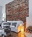 Bricklane-Stein-Backstein-3D-Tapeten-FotoTapeten-Rot-Grau-Weiß