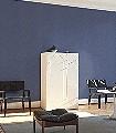 Brit,-col.56-Gitter-Punkte-20-50er-Jugendstil-Perlenvorhang-Art-Deco-1920er-Jahre-Blau