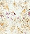 Butterflies,-col.03-Blätter-Großmotiv-Schmetterlinge-FotoTapeten-Rosa-Multicolor