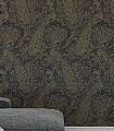 Byron,-col.06-Ornamente-Tiere-Patina-Klassische-Muster-Gold-Braun-Anthrazit