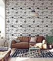C60,-snow-'colour-me'-Gegenstände-Moderne-Muster-KinderTapeten-Schwarz-Weiß