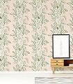 Calathea,-col.-2-Blätter-Florale-Muster-Grün-Rosa-Weiß