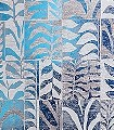 Canopy,-col.21-Blätter-Kachel-Florale-Muster-Blau-Grau-Weiß