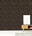 Capas,-col.-3-Holz-Florale-Muster-Braun