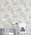 Caren,-col.03-Blätter-Stoff-Florale-Muster-Braun-Weiß