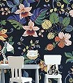 Carmen-Falls,-col.-70-Blumen-Blätter-Früchte-Florale-Muster-FotoTapeten-Multicolor