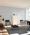 Cassandra,-col.03-Vögel-Flamingos-Moderne-Muster-Grau-Weiß