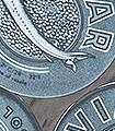 Caviar-S,-embers-blue-Gegenstände-Moderne-Muster-FotoTapeten