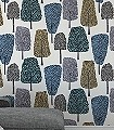 Cedar,-col.04-Bäume-Florale-Muster-Anthrazit-Weiß-petrol