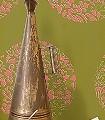 Cerclé,-col.10-Kreise-Blätter-Zeichnungen-Moderne-Muster-Olive-Weiß-Pink