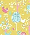 Cherry-Valley,-col.01-Blumen-Bäume-Vögel-KinderTapeten