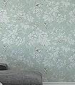 Chiswick-Grove,-col.-7-Blumen-Tiere-Blätter-Vögel-Äste-Fauna-Florale-Muster-Orange-Hellgrün-Creme-Hellblau-Hellbraun