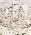 Citadel-Stein-Gebäude-Patina-FotoTapeten-Braun-Creme