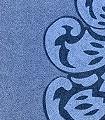 Classé-Cru,-col.-5-Ornamente-Klassische-Muster-Blau