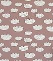 Cloud,-rose-Wolken-KinderTapeten-Rosa-Weiß