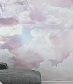 Clouds-Mural-Formen-Gesichter-Moderne-Muster-FotoTapeten-Creme