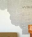 Collage-Paper---cut-out-pattern-Blumen-Kachel-Buchstaben-Quadrate/Rechtecke-Moderne-Muster-Grafische-Muster-Grau-Weiß