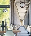Colonnades-Gebäude-3D-Tapeten-tromp-l'oeil-FotoTapeten-Grau-Anthrazit-Creme