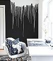 Colour-Rain-Linie-Farbverlauf-FotoTapeten-Schwarz-Weiß