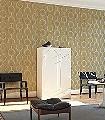 Contemporary-Acacia-Kreise-Moderne-Muster-Grafische-Muster-Silber-Ocker