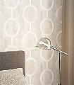 Contemporary-Dove-Kreise-Moderne-Muster-Grafische-Muster-Creme