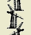 Crane,-col.-09-Kräne-Moderne-Muster-Schwarz-Creme