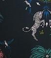 Creatura-Teal,-col.-03-Blumen-Tiere-Bäume-Vögel-Schmetterlinge-Fauna-Florale-Muster-Multicolor