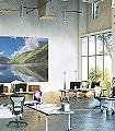Crystal-Lake-View-Landschaft-FotoTapeten-Grün-Blau-Weiß