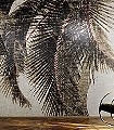 Cuba-Libre,-col.01-Blätter-Stoff-Großmotiv-Moderne-Muster-FotoTapeten-Rot-Grau-Braun-Schwarz-Creme