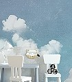 Cuddle-Clouds-Wolken-FotoTapeten-Weiß-Hellblau