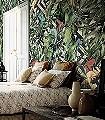 DONATELLO-Blumen-Tiere-Blätter-Fauna-Florale-Muster-FotoTapeten-Multicolor