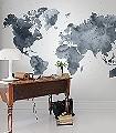 DUSKY-WORLD-Welt-FotoTapeten-Blau-Weiß
