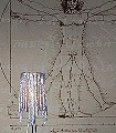 Da-Vinci-Figuren-Großmotiv-Zeichnungen-FotoTapeten-Braun-Weiß-Hellbraun