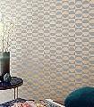 Delta-Circles,-col.-2-Kreise-Grafische-Muster-Art-Deco-Gold-Türkis