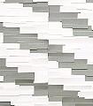 Diagonal-Room-Papier-Grau-Weiß
