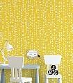 Ditto,-col.03-Dreiecke-Moderne-Muster-Gelb-Weiß