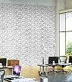 Do-you-live-in-a-Town,-snow-'colour-me'-Gebäude-Moderne-Muster-KinderTapeten-Schwarz-Weiß