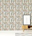 Doors,-col.-06-Gebäude-Moderne-Muster-Gold-Grau-Türkis-Weiß-Creme