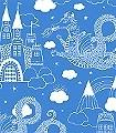 Dragon-Sky,-col.01-Gebäude-Wolken-Drachen-KinderTapeten