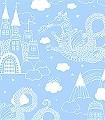 Dragon-Sky,-col.02-Gebäude-Wolken-Drachen-KinderTapeten