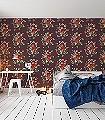 Dutch-Painters,-col.03-Blumen-Florale-Muster-Multicolor-weinrot
